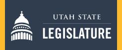 Utah Legislature Logo